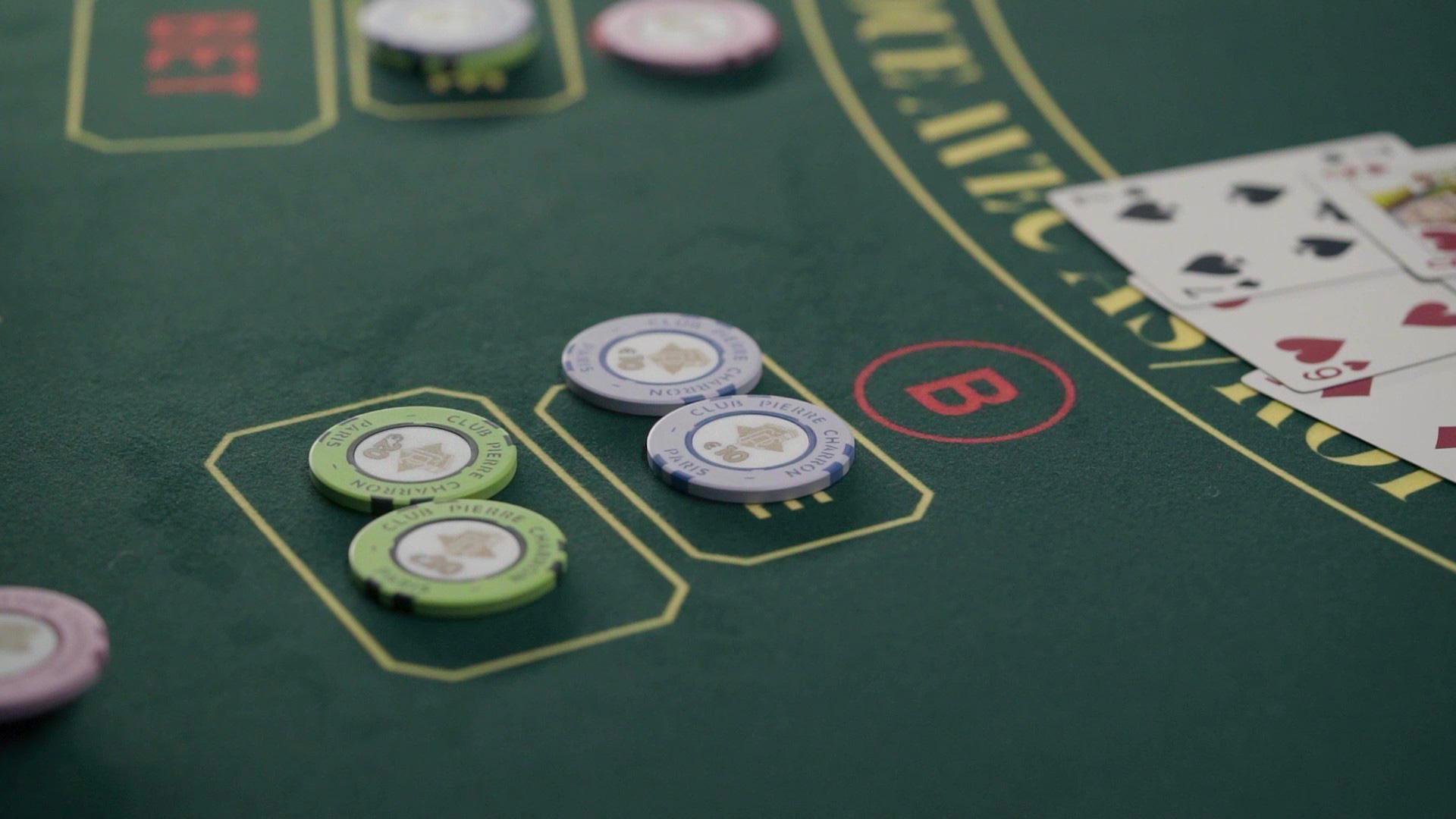 table de Stud Poker du Club Pierre Charron